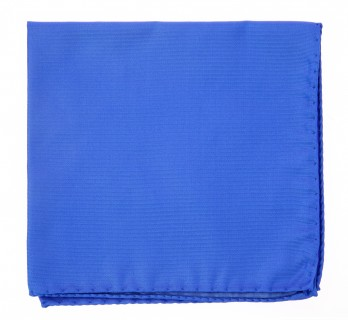 Majorelle Blue Pocket Square - Milan II