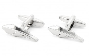 Feather cufflinks - Feather Lane