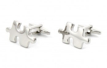 Puzzle cufflinks - Montreal