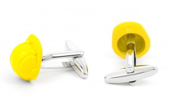 Helmet cufflinks - YMCA