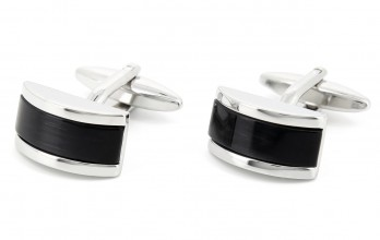 Black cufflinks - Vendôme