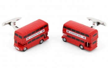 Boutons de manchette London Bus