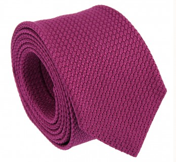 Raspberry Grenadine Silk The Nines Tie - Grenadines III