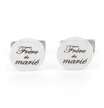 Wedding cufflinks - Groom Brother