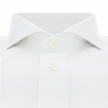 Chemise mousquetaire blanche col cutaway
