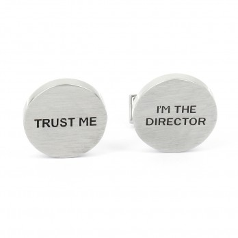 Boutons de manchette Trust Me I'm The Director