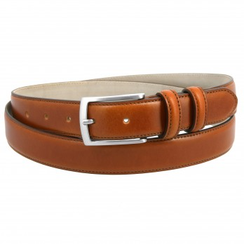 Camel leather belt - Ugo