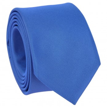 Royal Blue Tie in Silk - Côme