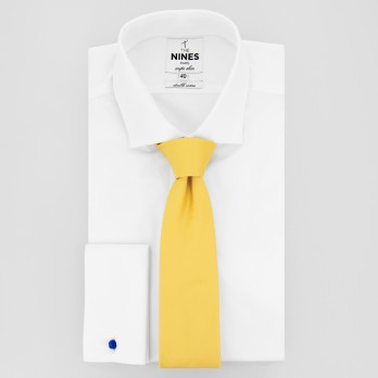 Yellow Tie in Silk - Côme