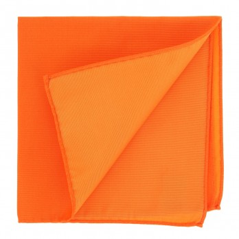 Orange Pocket Square in Silk - Côme