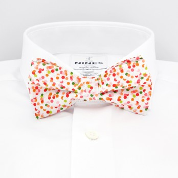 Pink Bow Tie Confetti Pattern
