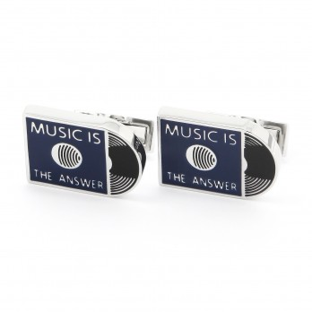Music Is The Answer Cufflinks