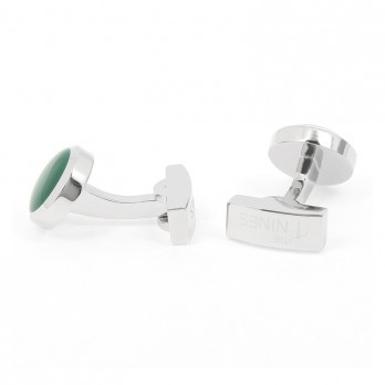 English Green Cufflinks - Montreux II