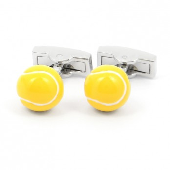 Tennis Cuffllinks - Match Ball