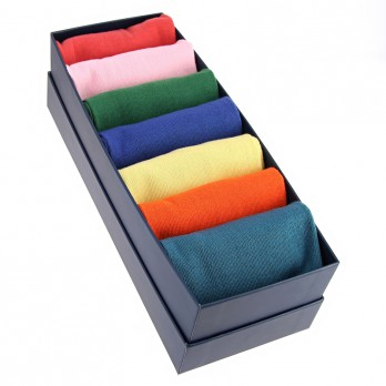 Sock pack cotton socks colorblock