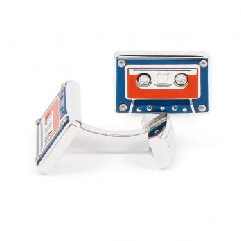 Audio tape cufflinks - K7
