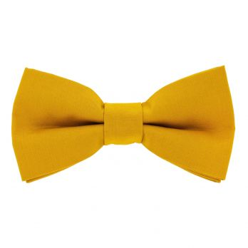Mustard yellow bow tie - Sorrente